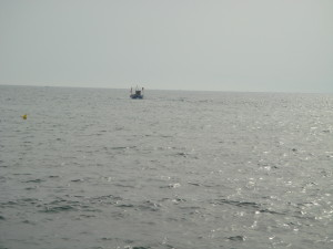 A fishing returns to Vougliameni