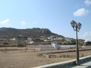 The graves of the giants, Mykonos