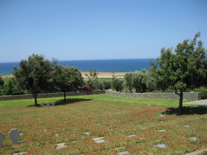 The German graveyard at Maleme, Crete