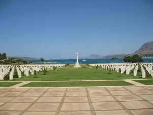 The Commonwealth Cemetery at Souda Bay