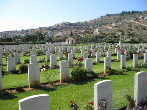 Commonwealth war graves at Souda Bay, Crete