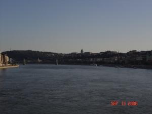 The Danube from Margaret Bridge