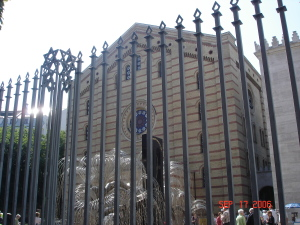The Holocaust Memorial Budapest's Great Synagogue