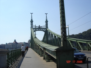The Liberty Bridge, Budapest