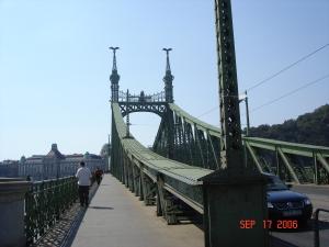 The Liberty Bridge, Budapest