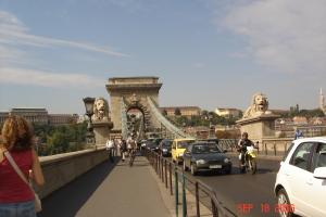 Szechenyi Chain Bridge