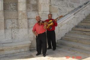 Musicians at the Vienna Gate