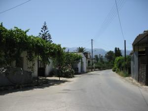 A village in Crete