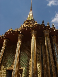 More of the Grand Palace's gilded splendour