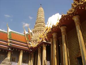 A gilded Thai Temple