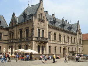 At Prague Castle