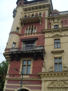 Belle Epoque Buildings in Prague