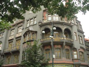 The beautiful Josefov building