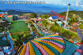 Genting Highlands Theme Park. Photo
