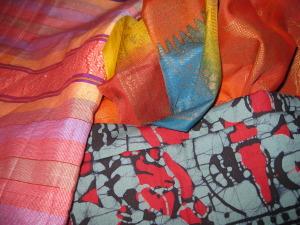 Gorgeous textiles from Malaysia