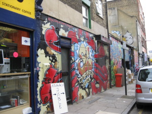 Brick Lane's North End