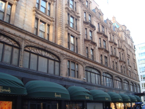 Harrod', London, Travelstripe