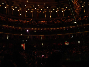 Showtime at the Royal Albert Hall