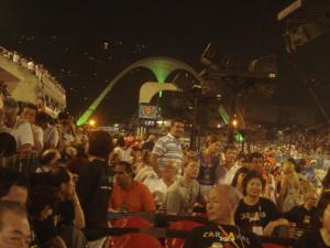 The Sambadromo, Carnaval, 2009