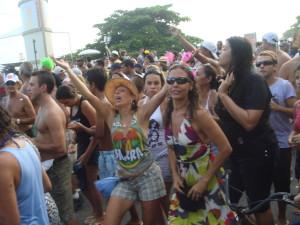 The bloco da Barra