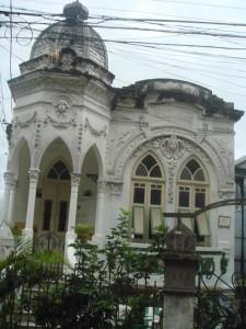 One of Santa Teresa's beautiful old houses