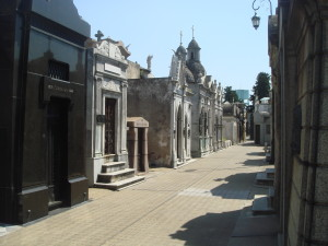A calle in La Recoleta