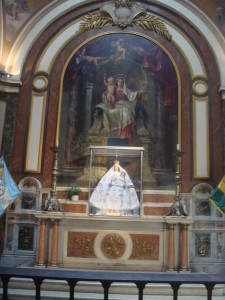 An altar in the Catedral Metropolitana