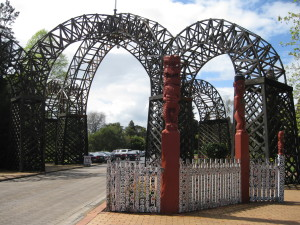 Rotorua Government Gardens, The Prince's Gate