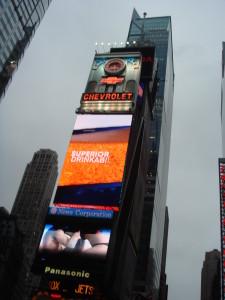Broadway skyline