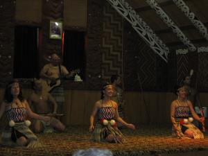 Maori Concert at Te Puia
