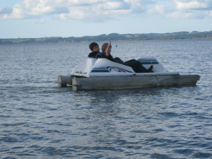 Messing about in boats on Lake Rotorua