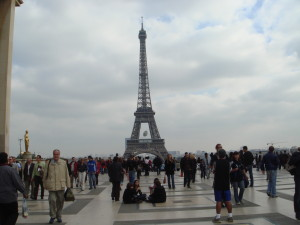 The Eiffel Tower from Trocadero