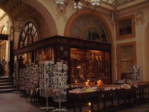 The Librairie in Galerie Vivienne