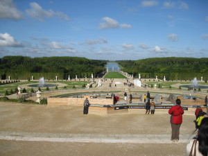 The park of Versailles