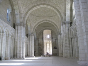 The chapel at Fontevraud L'abbaye