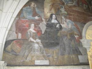 Fresco at Fontevraud L'Abbaye
