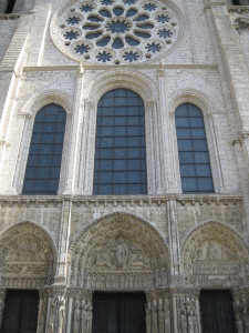 The Cathedral at Chartres
