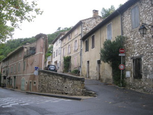 The pretty village of La Fontaine de Vaucluse