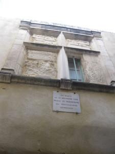 The house of Nostradamus, St Remy