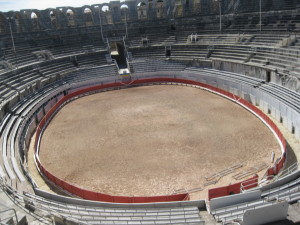 The Roman arena at Arles