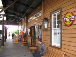 Pleasant Point Railway Station