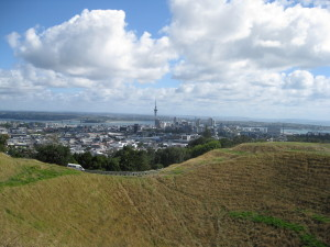 Auckland City From Mount Eden, Maunga Whau
